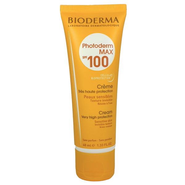 کرم ضد آفتاب بایودرما مدل c100 حجم 40 میلی لیتر