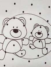 تیشرت نوزادی طرح خرس کد 1018 -  - 3