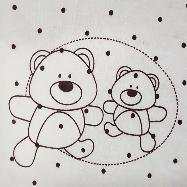 تیشرت نوزادی طرح خرس کد 1018 -  - 4