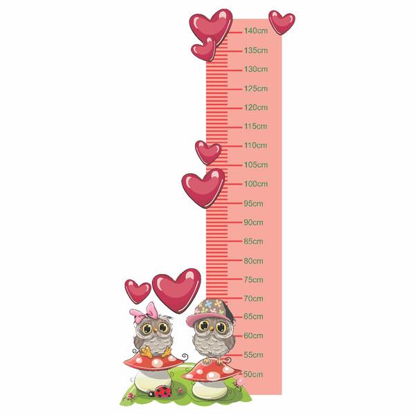 متر اندازه گیری کودک طرح جغد های دوست داشتنی کد01
