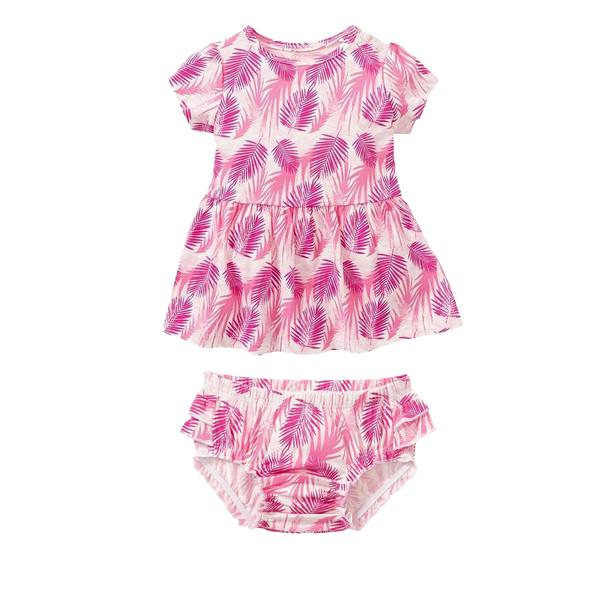 ست پیراهن و شورت نوزادی دخترانه لوپیلو کد R01