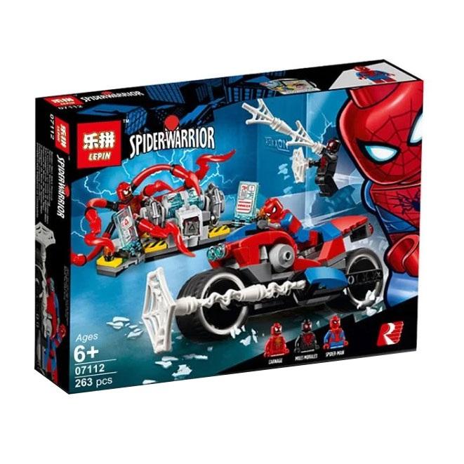 ساختنی لپین مدل Spider Warrior کد 07112