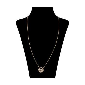 گردنبند طلا 18 عیار زنانه مدل GI1009