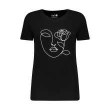 تی شرت زنانه مون مدل 163116999