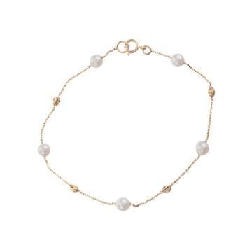 دستبند طلا 18 عیار زنانه میو گلد مدل GD459