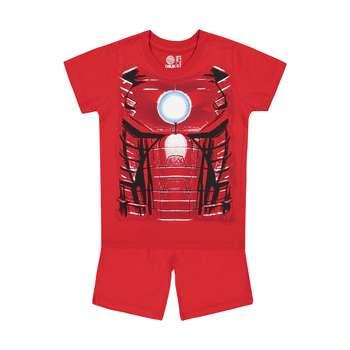ست تی شرت و شلوارک پسرانه سون پون مدل 1391340-72