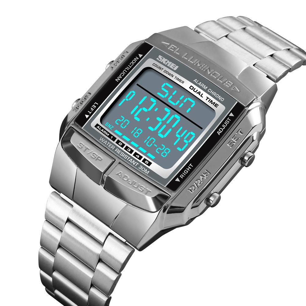 خرید                                      ساعت مچی دیجیتال اسکمی مدل 1381 کد 01