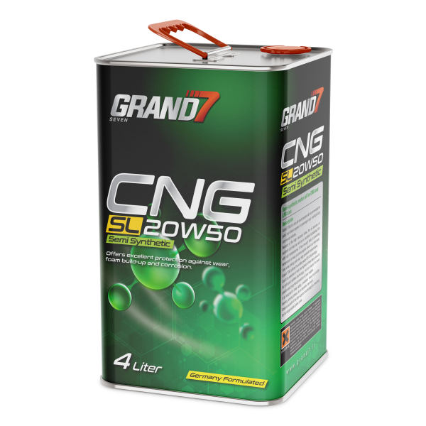 روغن موتور خودرو گرند سون مدل  CNG  حجم 4000 میلی لیتر