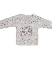 تیشرت نوزادی طرح خرس کد 1018 -  - 1