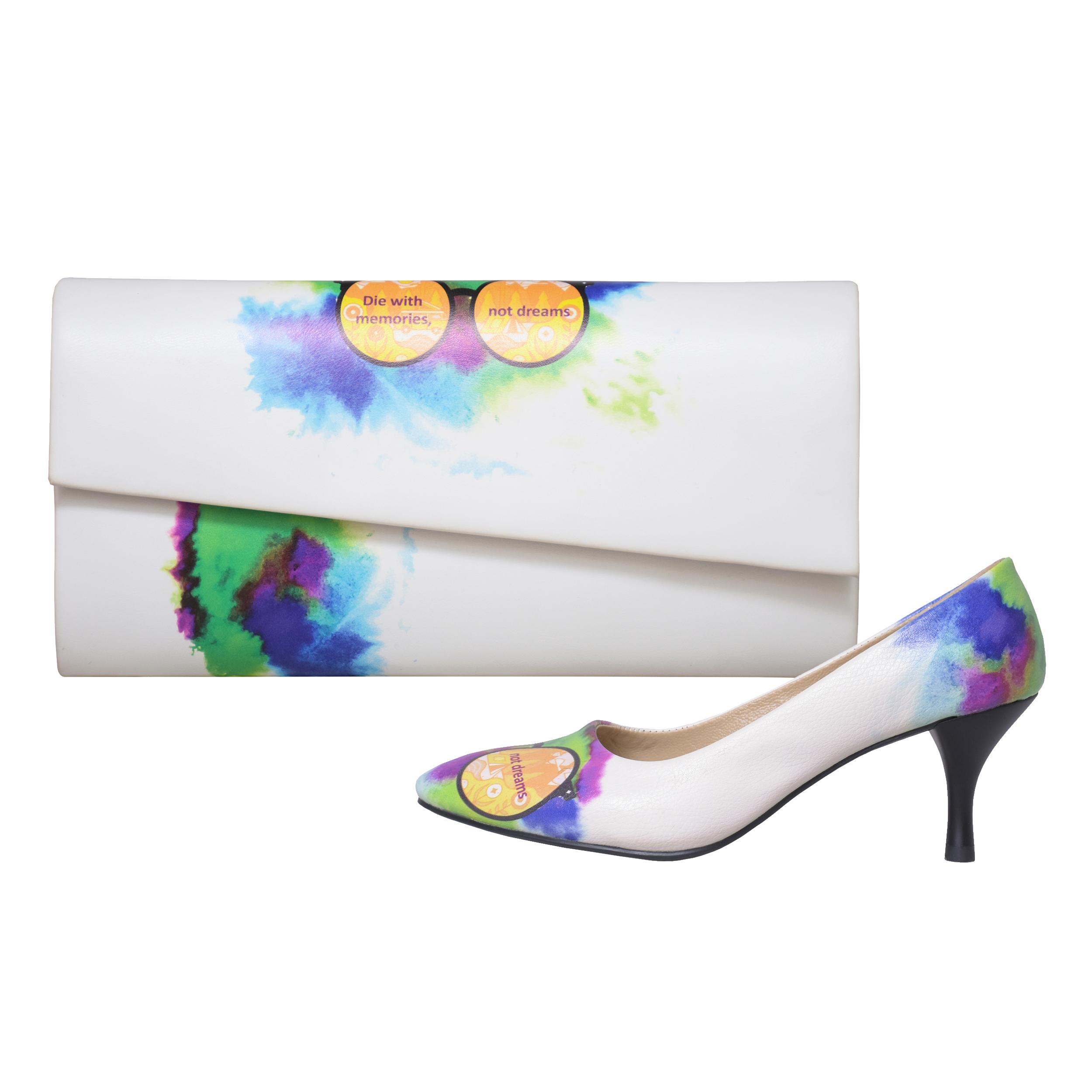 خرید                      ست کیف و کفش زنانه جاویا طرح عینک کد J6006
