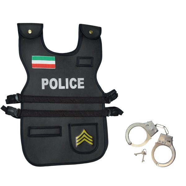 ایفای نقش پلیس مدل P-102 همراه دستبند