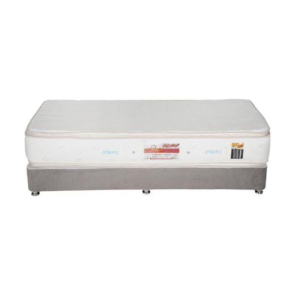 تخت خواب یک نفره مدل DMB124 سایز 200 × 90 سانتی متر