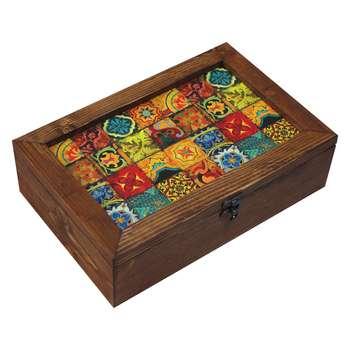 جعبه چای کیسه ای کد E15