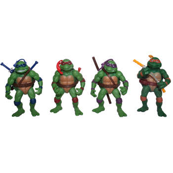 اکشن فیگور طرح لاکپشتهای نینجا بسته ۴ عددی