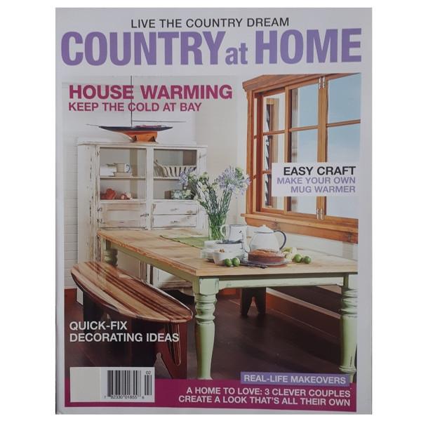 مجله COUNTRY at HOME ژانويه 2020