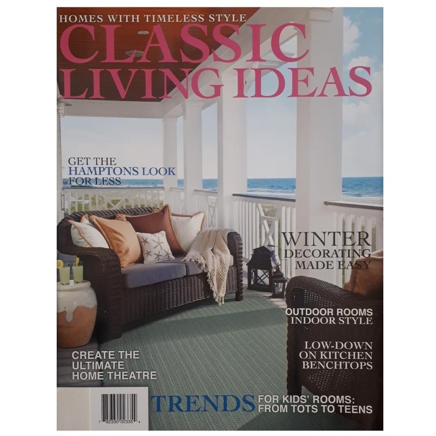 مجله CLASSIC LIVING IDEAS فوريه 2020