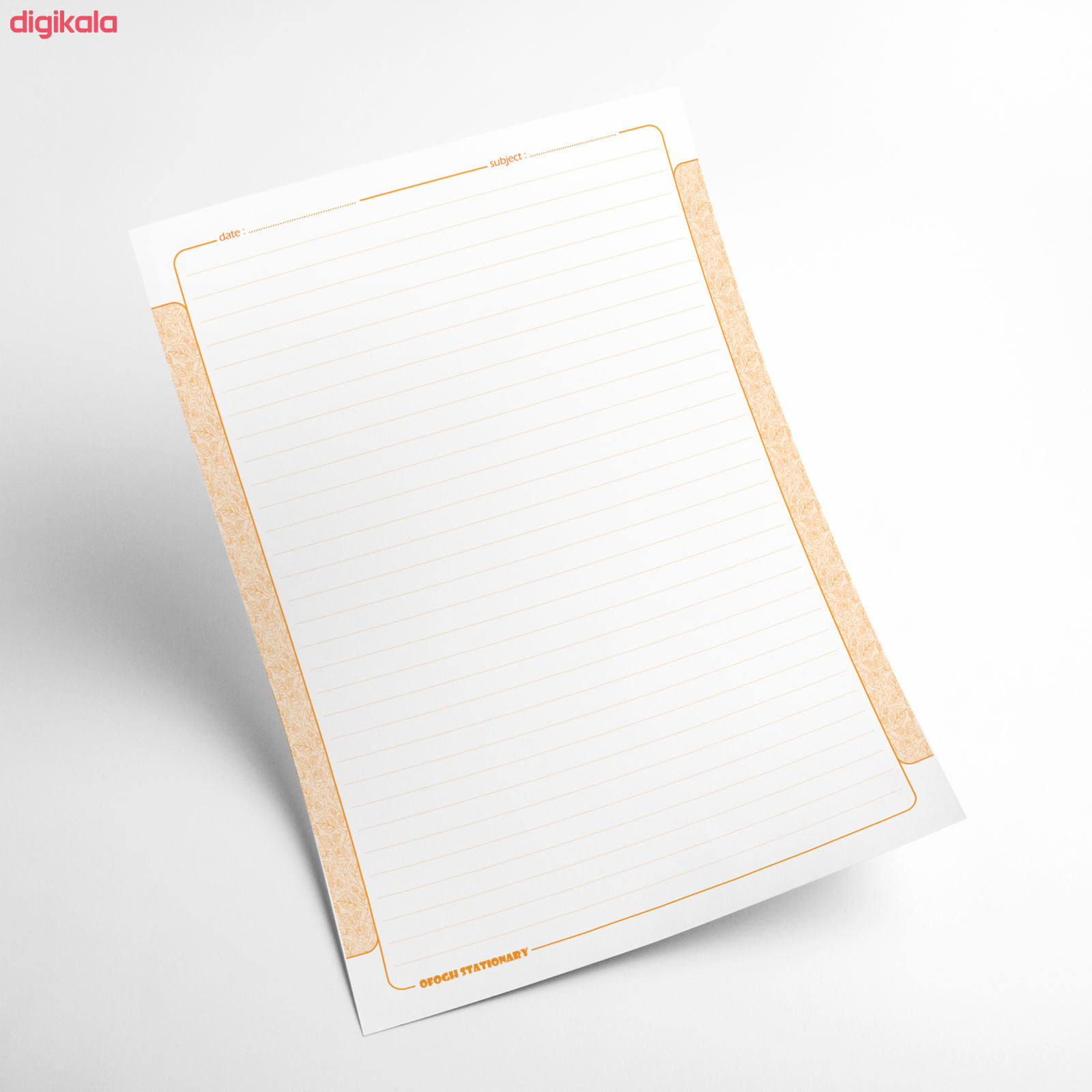 کاغذ A4 افق مدل چهار فصل بسته 100 عددی main 1 4