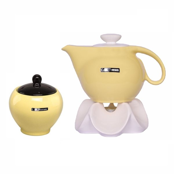 سرویس چای خوری 3 پارچه آی سرام مدل ریتا کد 2020