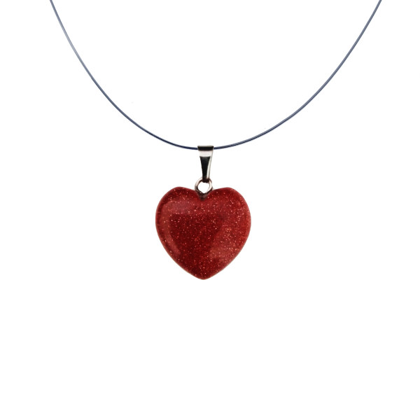 گردنبند زنانه سلین کالا طرح قلب مدل ce-mah1