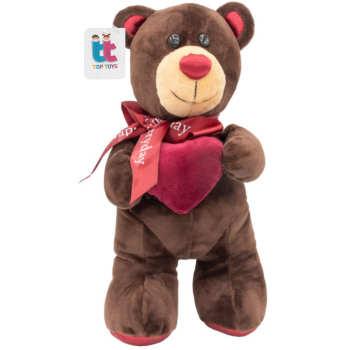 عروسک تاپ تویز طرح آقا خرس مهربان ارتفاع 45 سانتی متر
