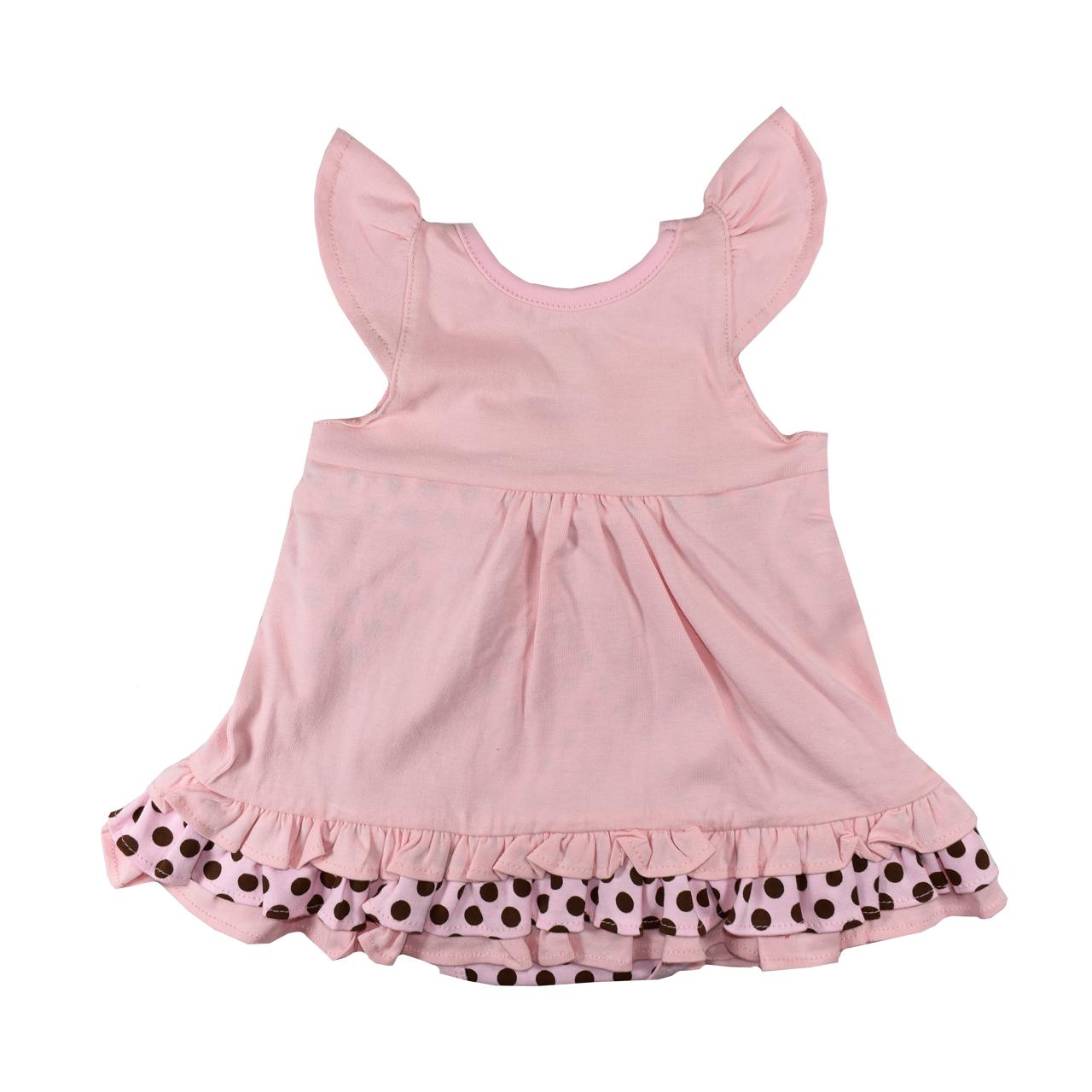 پیراهن نوزادی دخترانه نیروان کد 409