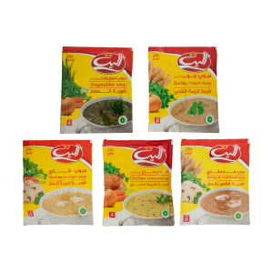 سوپ الیت -  مجموعه 5 عددی