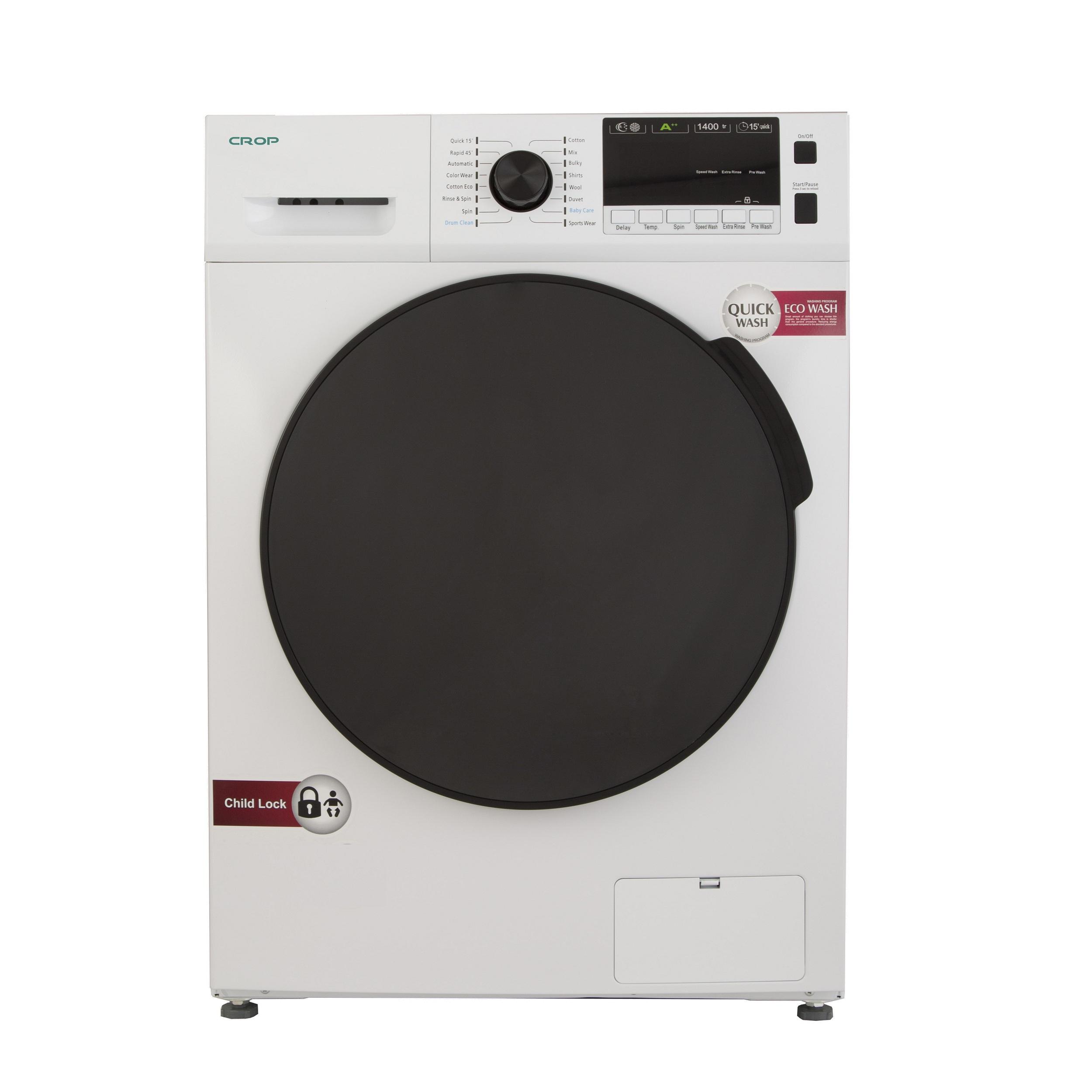 ماشین لباسشویی کروپ مدل WFT-27417 ظرفیت 7 کیلوگرم