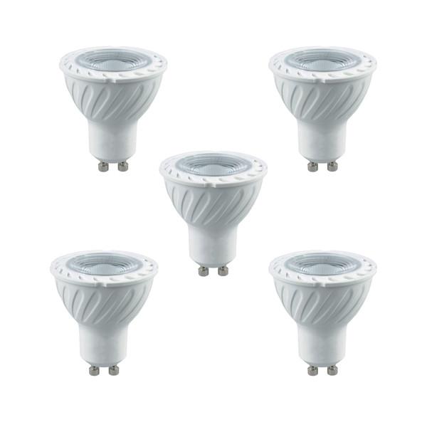 لامپ هالوژن 7 وات پارس شعاع توس مدل LNEW پایه GU10 بسته 5 عددی