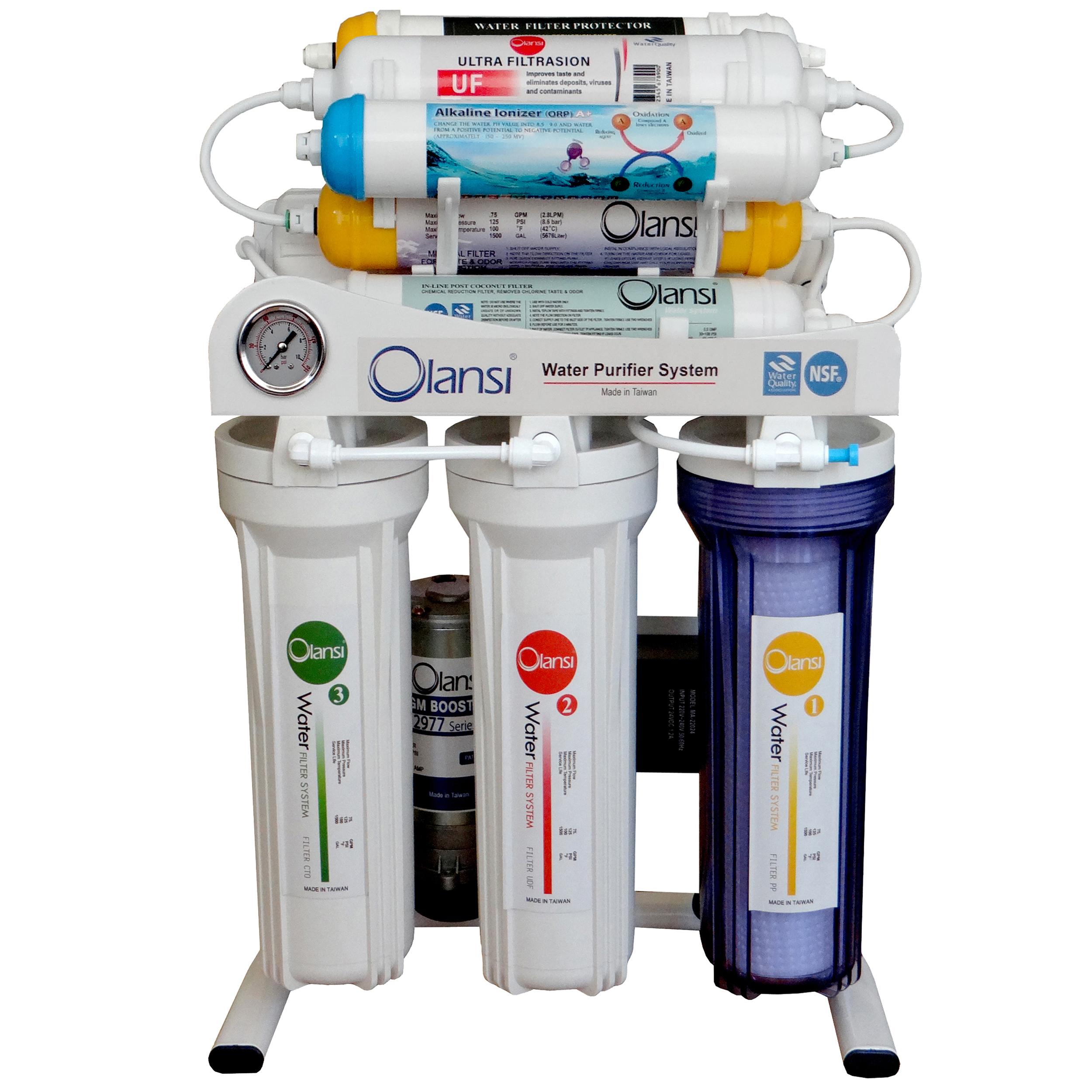 دستگاه  تصفیه کننده آب  اولانسی مدل REVERSE OSMOSIS AT7600