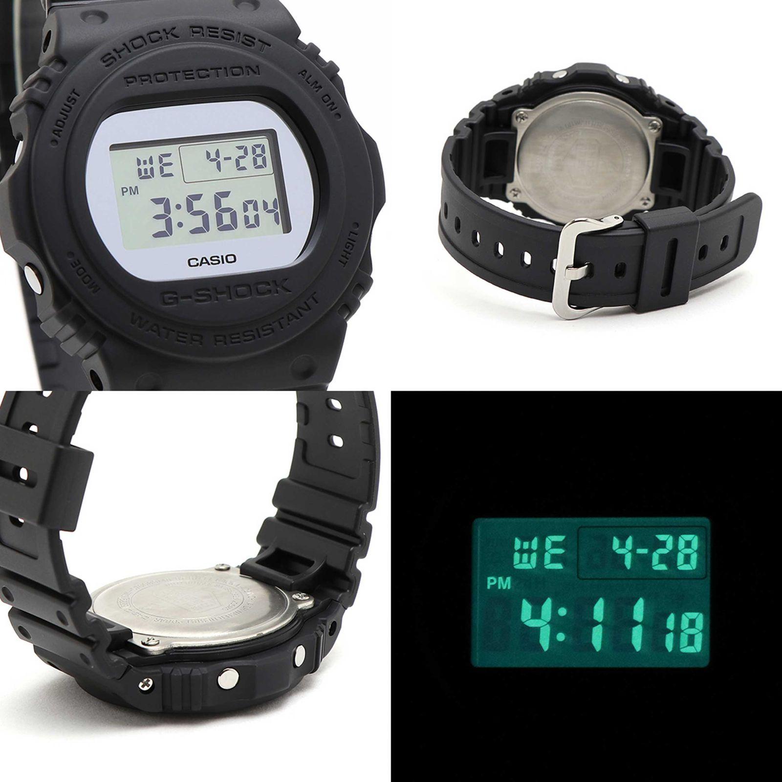 ساعت مچی دیجیتال مردانه کاسیو مدل DW-5700BBMA-1DR -  - 4