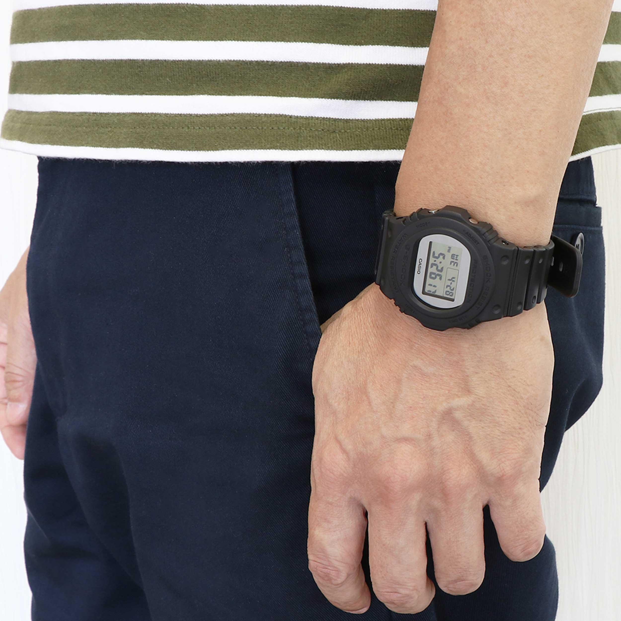 ساعت مچی دیجیتال مردانه کاسیو مدل DW-5700BBMA-1DR              اصل