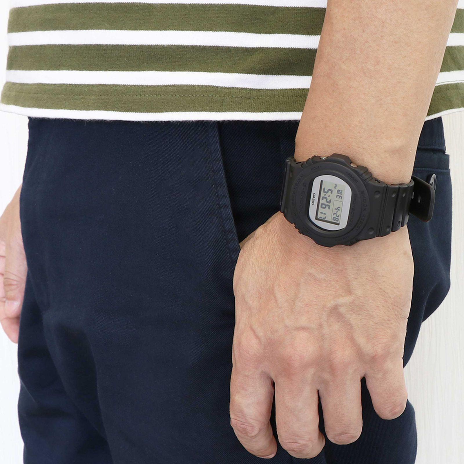ساعت مچی دیجیتال مردانه کاسیو مدل DW-5700BBMA-1DR -  - 5