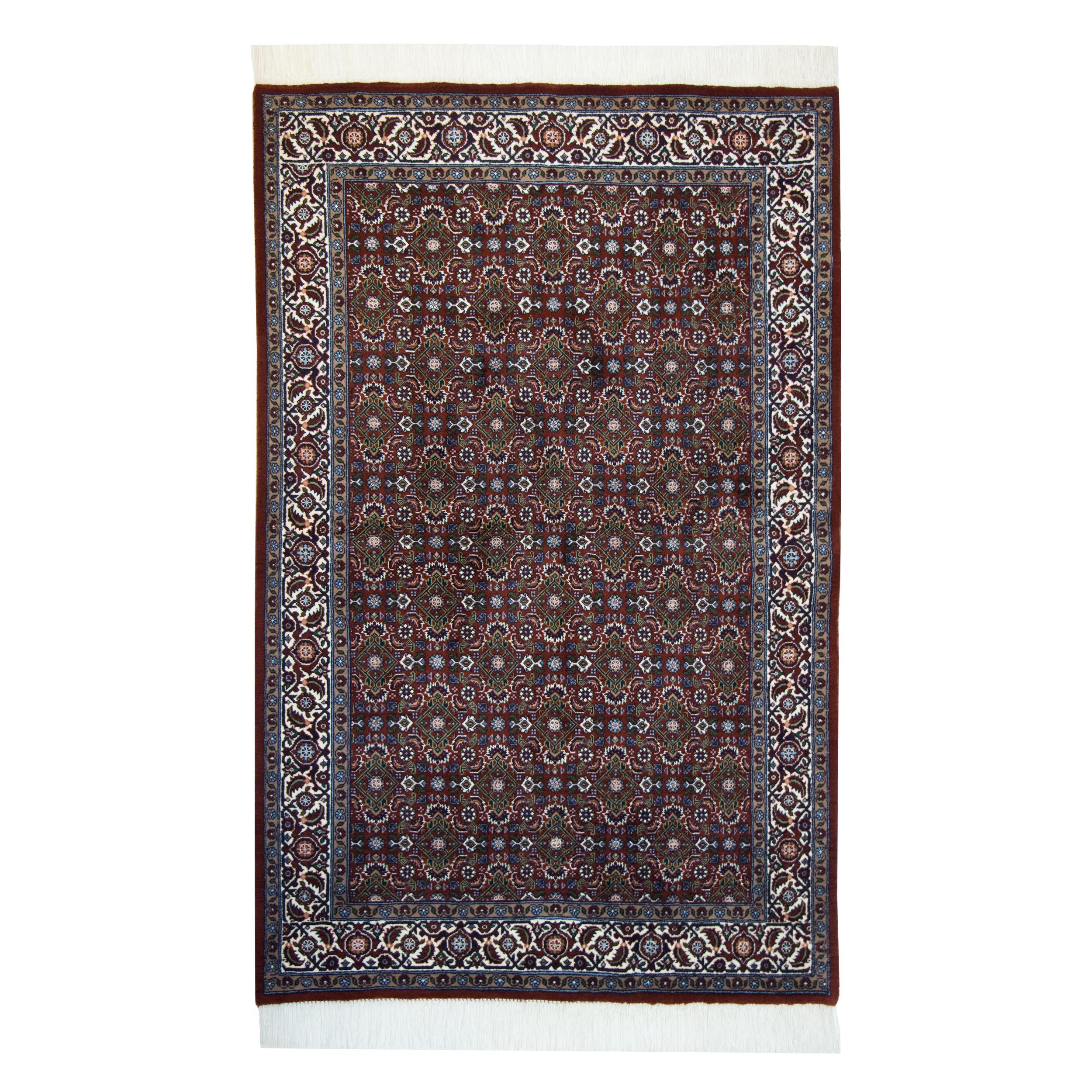 فرش دستباف دو متری مدل بیجار کد dg23
