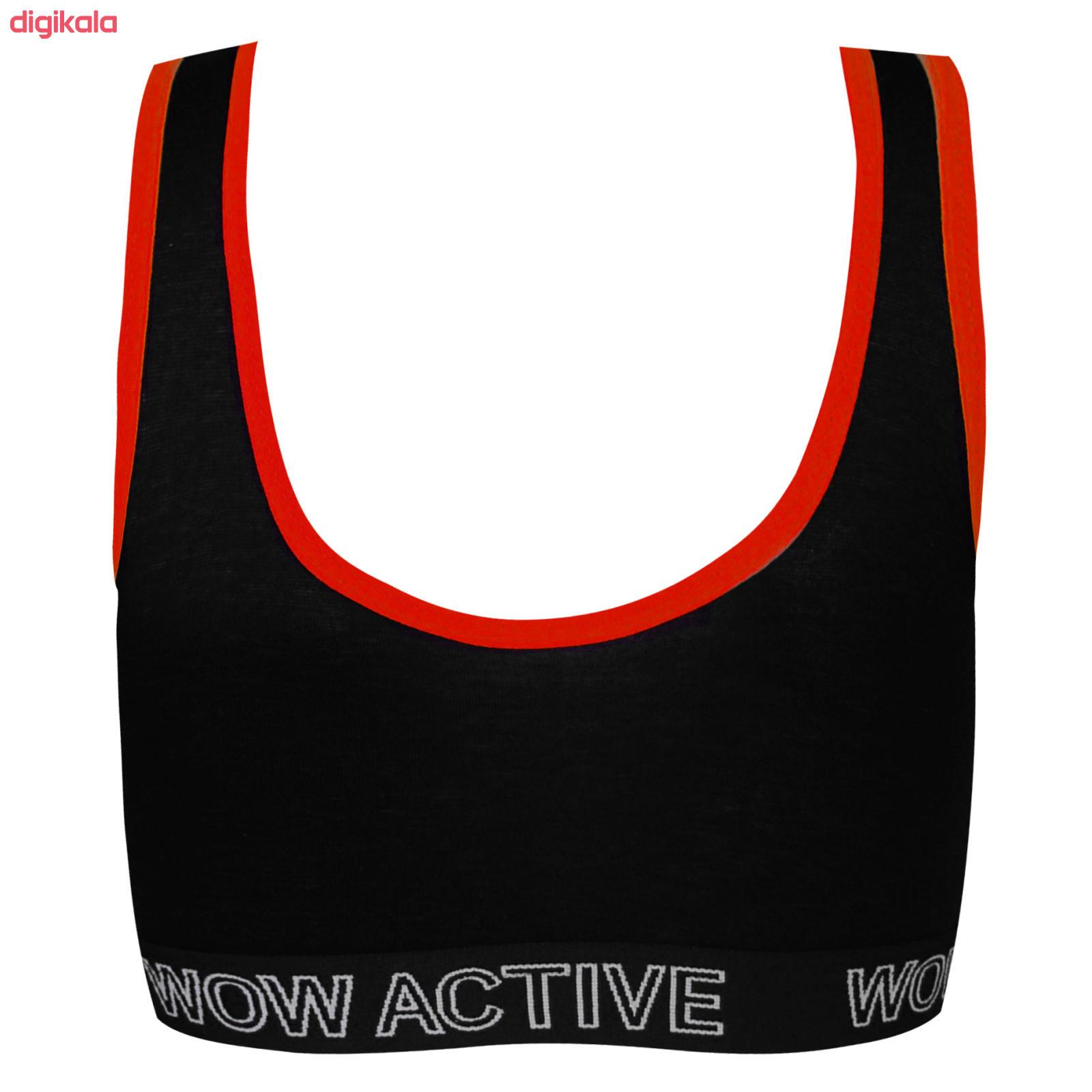 نیم تنه ورزشی زنانه ماییلدا کد 3411-6 main 1 2