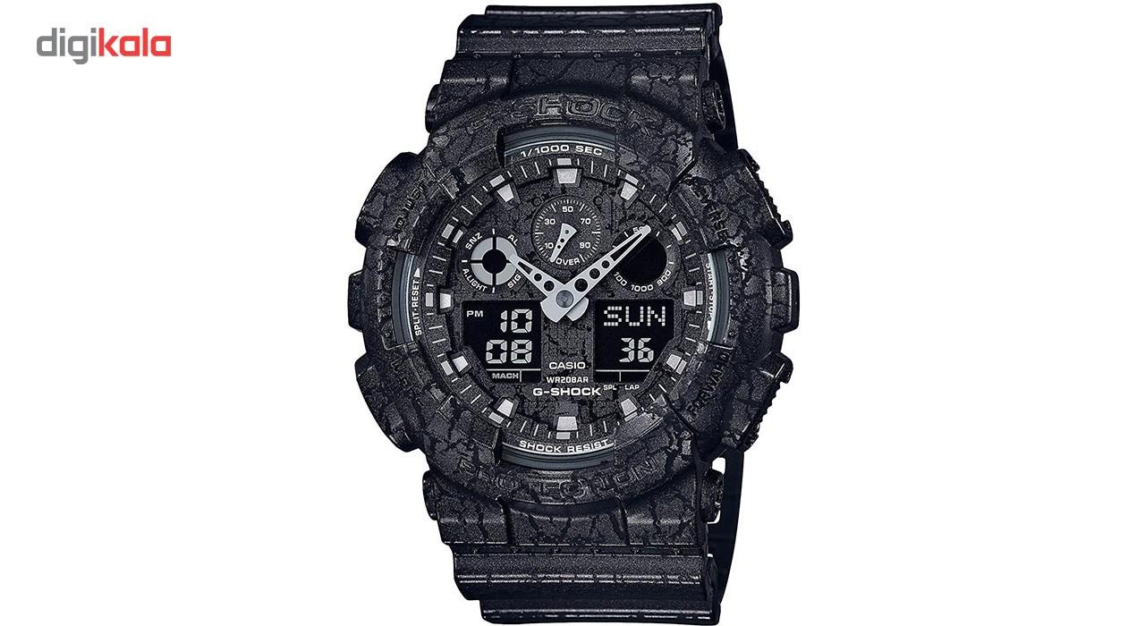 خرید ساعت مچی عقربه ای مردانه کاسیو جی شاک مدل GA-100CG-1ADR