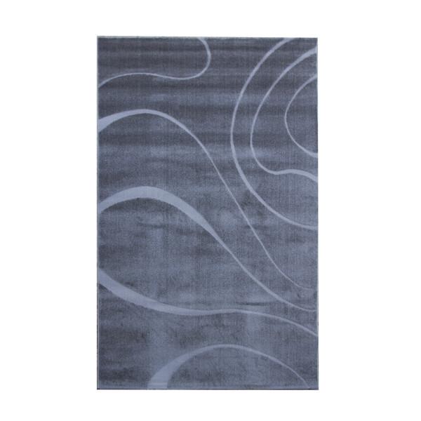 فرش ماشینی ساوین طرح سیوان زمینه طوسی