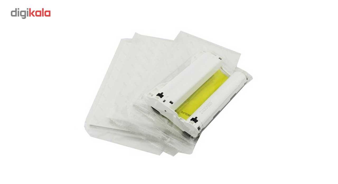 ریبون کانن مدل 001 به همراه 54 عدد کاغذ مناسب برای پرینتر CP1200 main 1 1