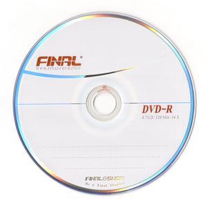 دی وی دی خام فینال کد D10 بسته 10 عددی