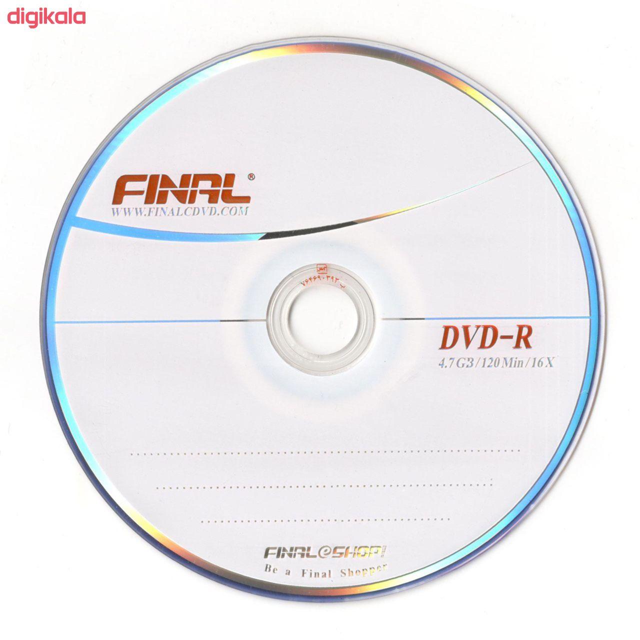 دی وی دی خام فینال کد D10 بسته 10 عددی main 1 1