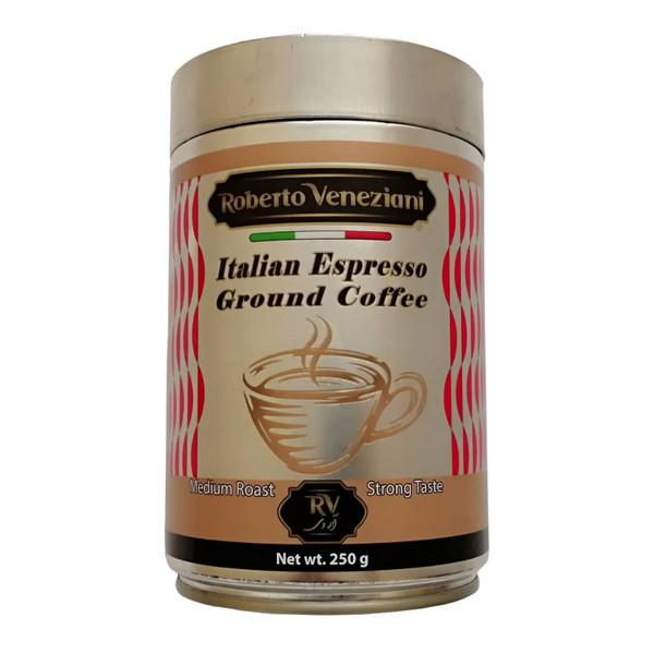 پودر قهوه اسپرسو با طعم قوی آر وی - 250 گرم