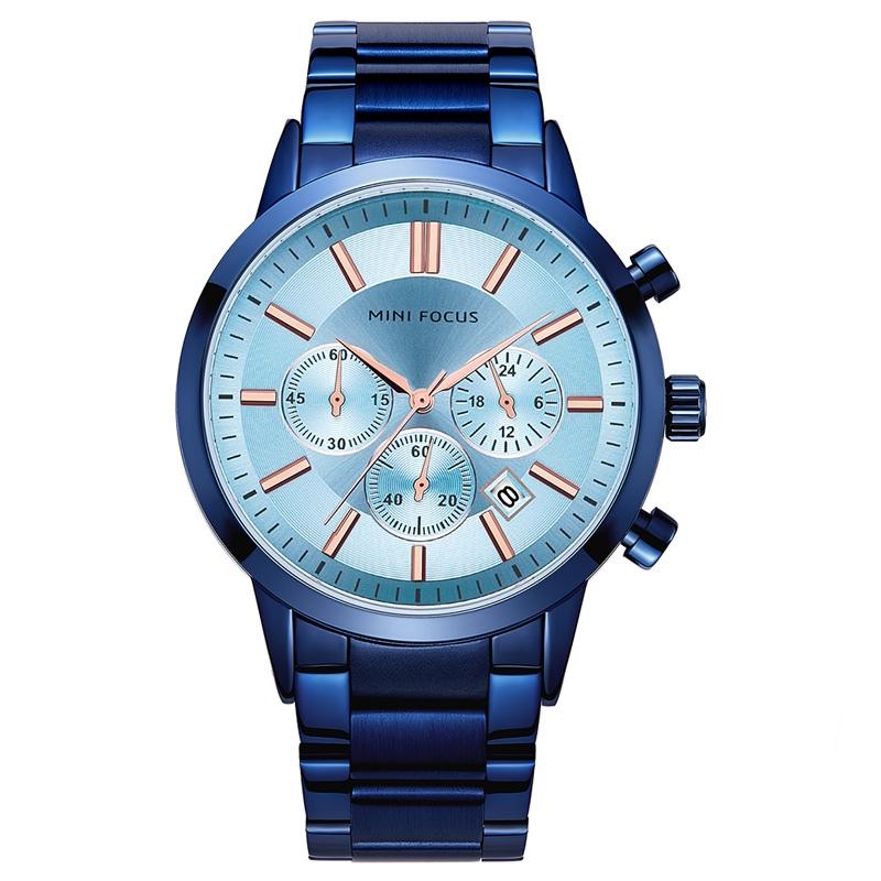 ساعت مچی عقربه ای مردانه مینی فوکوس مدل mf0188g.05