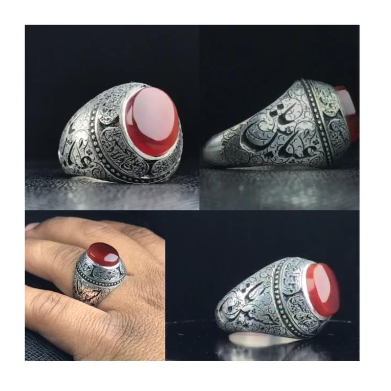 انگشتر نقره مردانه کد a50