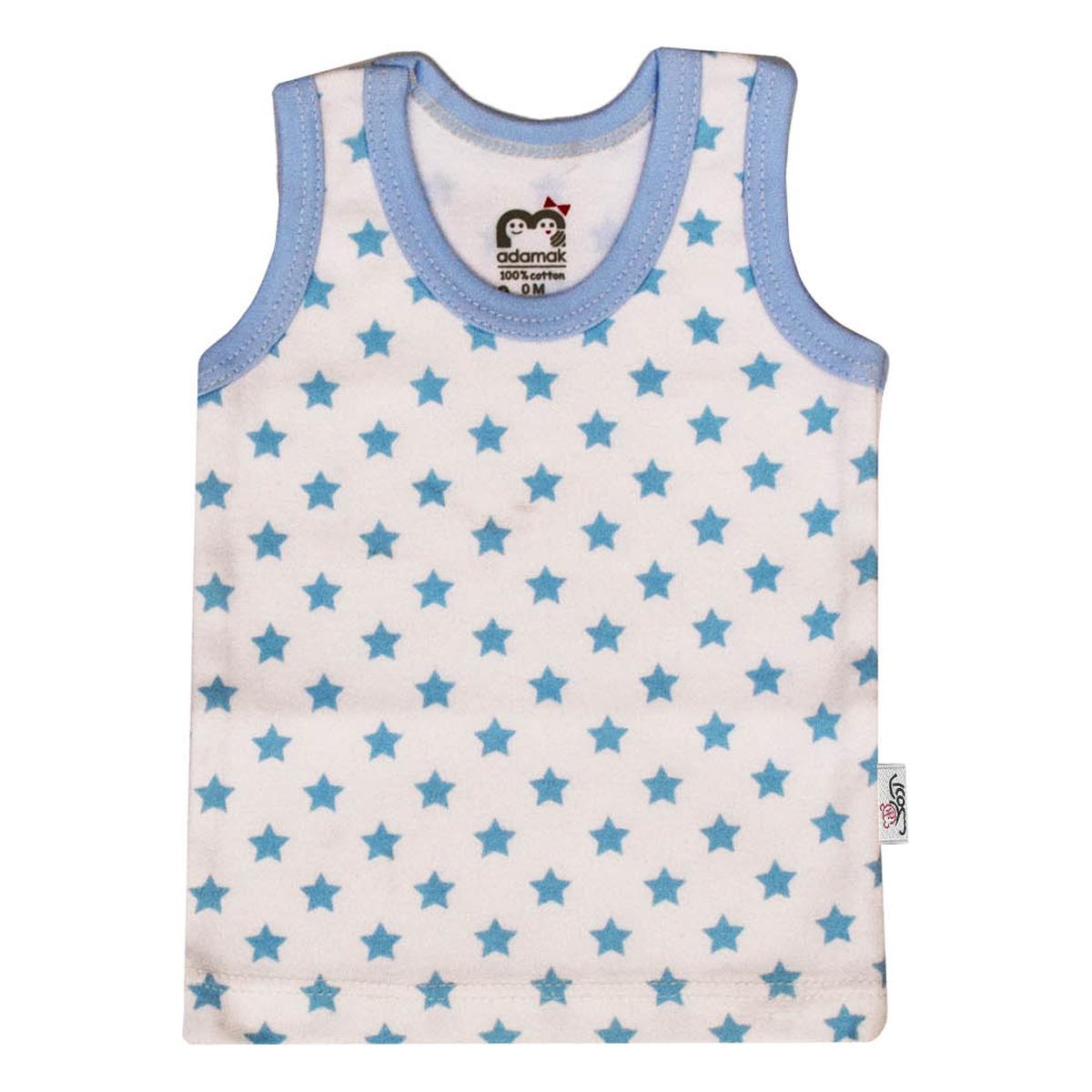 تاپ نوزادی آدمک طرح ستاره آبی