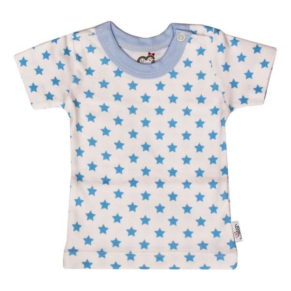 تی شرت آستین کوتاه نوزادی آدمک طرح ستاره