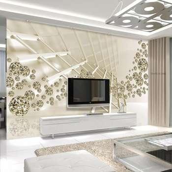 پوستر دیواری طرح گویهای الماس کد P1505