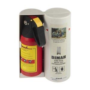 کپسول آتش نشانی دیما مدلD-2211به همراه پتو اطفاء حریق