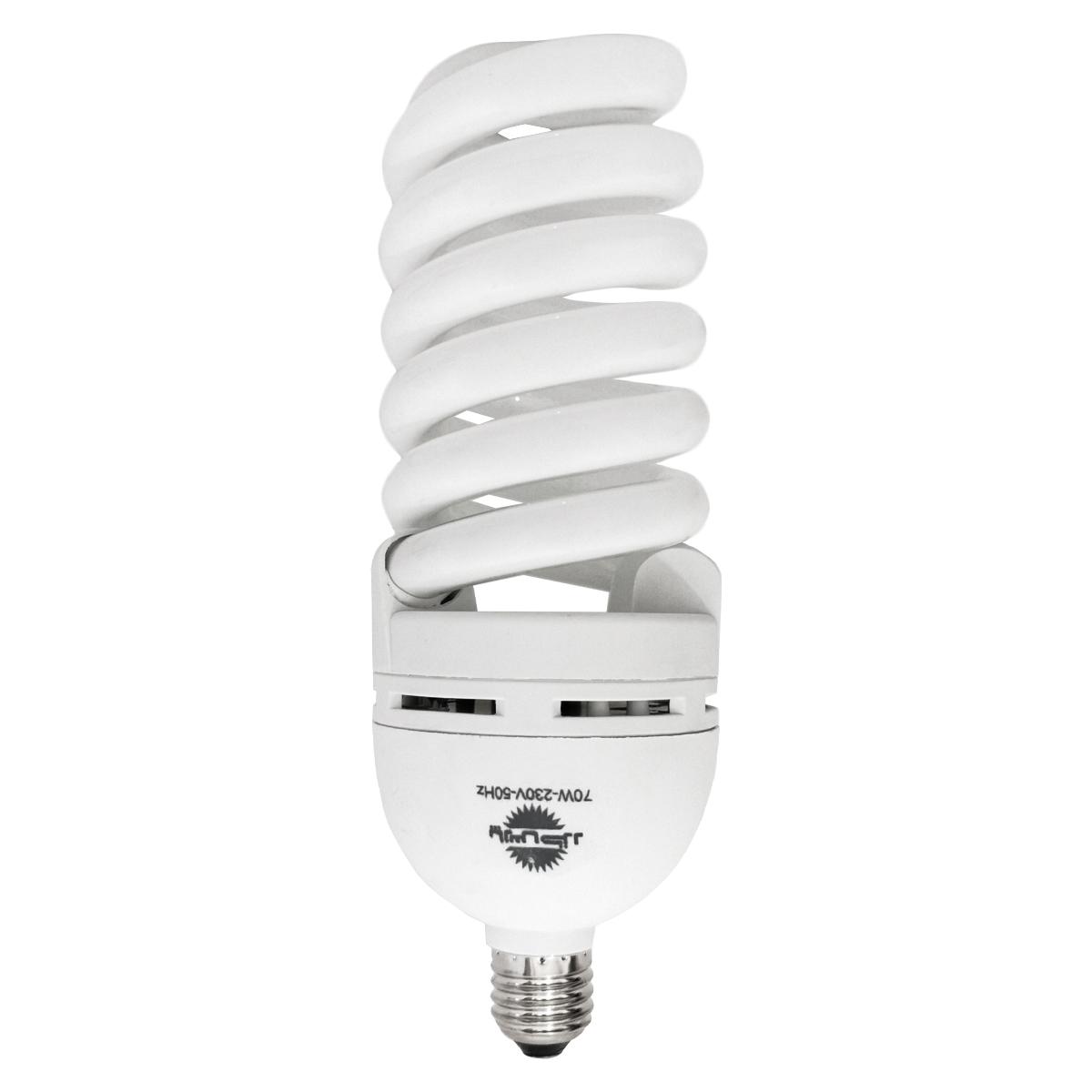 لامپ کم مصرف 70 وات پارس خزر مدل Pk101 پایه E27