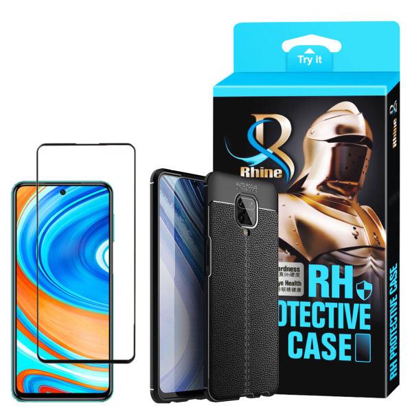کاور راین مدل R_ATOG مناسب برای گوشی موبایل شیائومی Redmi Note 9s به همراه محافظ صفحه نمایش