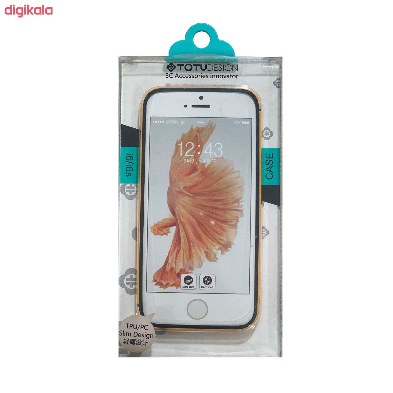 بامپر توتو مدل Slim مناسب برای گوشی موبایل اپل  Iphone 6/6S main 1 14