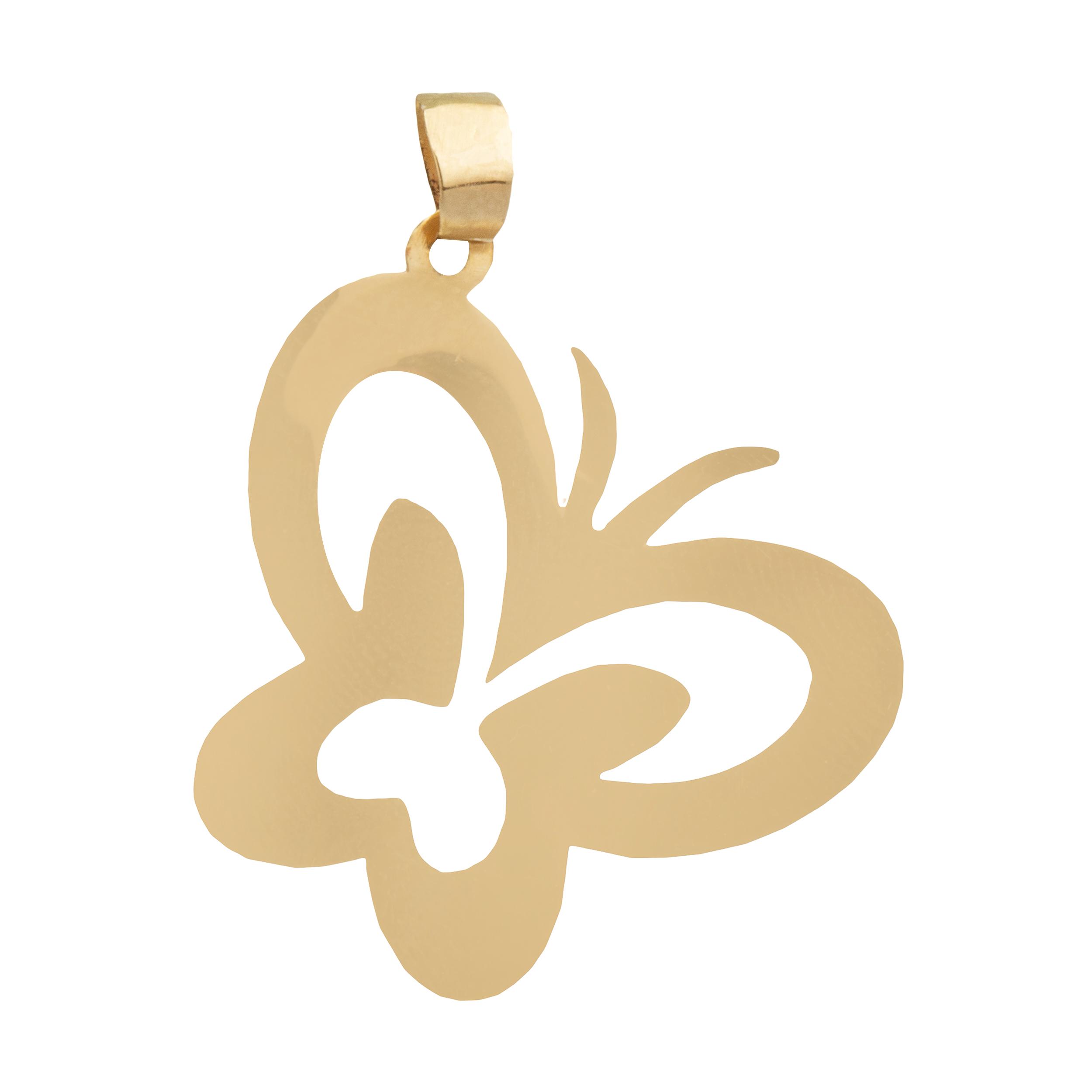 آویز گردنبند طلا 18 عیار زنانه آلند کد TA36